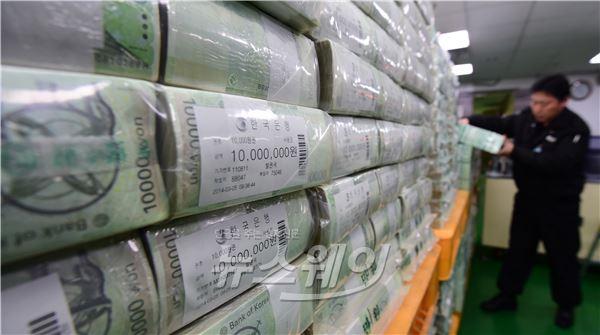 한국은행 설 앞두고 자금 방출