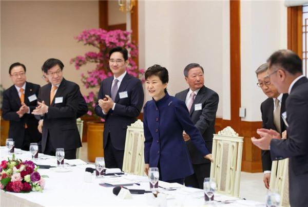 朴대통령, 재계에 문화예술 투자·후원 요청