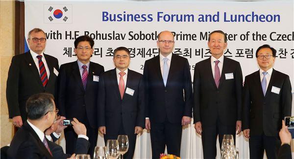한·체코 경제계 투자확대와 경제협력 강화