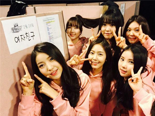 걸그룹 여자친구, 풋풋한 핑크빛 패션 공개…봄 내음 '솔솔'