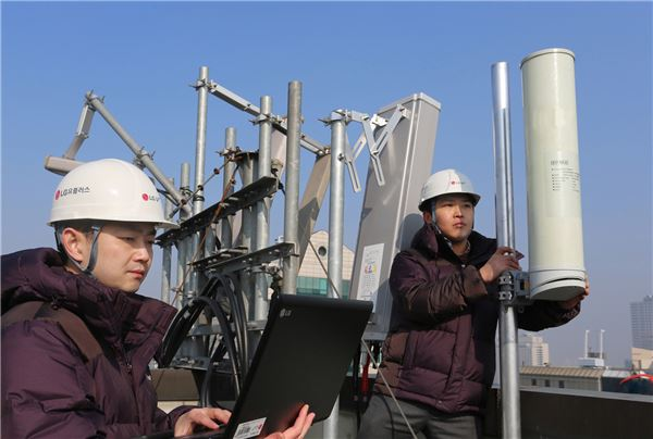 LG유플러스, 5G 네트워크 구현 위한 차세대 기지국 국내 최초 구축