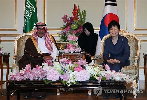 朴대통령, 중동 순방 이틀째 사우디서 세일즈외교