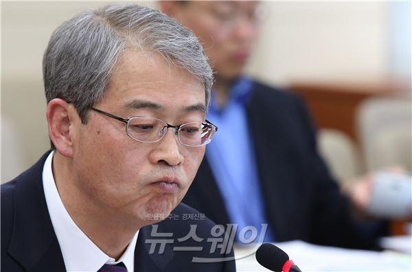 """임종룡 금융위원장 후보 """"하나·외환銀 통합, 노사합의 전제""""(종합)"""