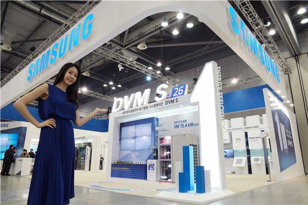 삼성전자, 국제냉난방공조전서 대용량 고효율 에어컨 선봬
