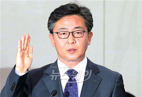 홍용표 통일부 장관 후보 인사청문보고서 채택