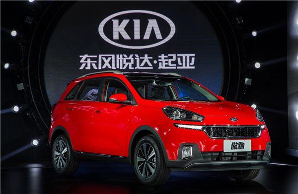 기아차, 중국 SUV 시장 공략 나서···소형 SUV 'KX3' 출시