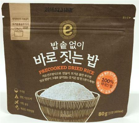 이마트, 즉석밥의 진화 '밥솥없이 바로 짓는 밥' 출시