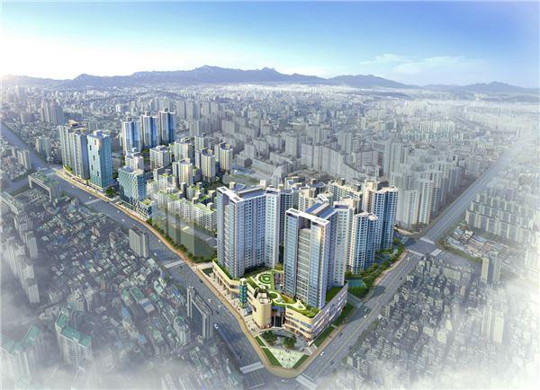 현대건설 컨소시엄, '왕십리 센트라스' 이달 분양