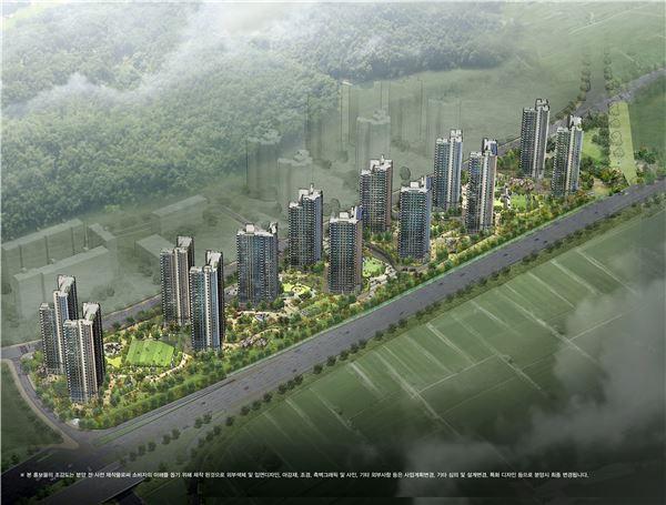 KCC건설, 착한가격 아파트 '한강신도시2차 KCC스위첸' 내달 분양