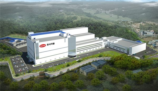 한미약품, 100억정 생산규모의 '글로벌 스마트 공장' 건설