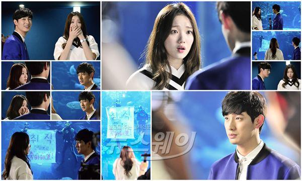 '여왕의 꽃' 윤박, 이성경 취업축하 이벤트… 달달 러브라인 '질투유발'