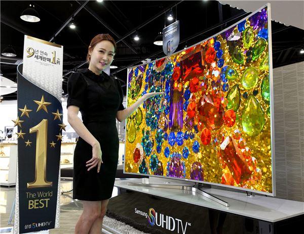 '첫 번째 슈퍼 TV' 삼성 SUHD TV, 3월에만 1200대 판매
