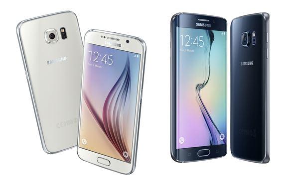 삼성전자, '혁신 스마트폰' 갤럭시S6·갤럭시S6 엣지 국내 첫 선