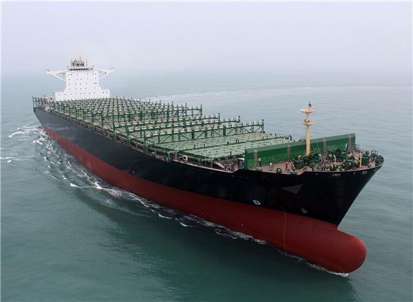 현대삼호重 컨테이너선,  '올해의 친환경 선박' 선정