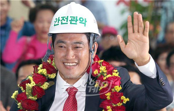 오신환 43.89% 득표, 정태호· 정동영 꺾었다