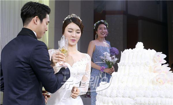 미스코리아와 함께하는 서울가든호텔 웨딩시연회