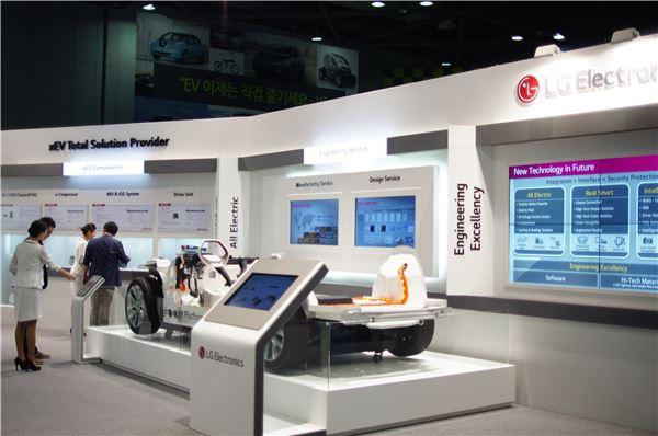 LG전자, '전기차 올림픽' EVS 참가…전기차 부품 기술 공개