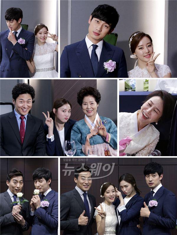 '여왕의 꽃' 윤박·고우리 약혼식, 심각한 극 반전 비하인드… 미소만발