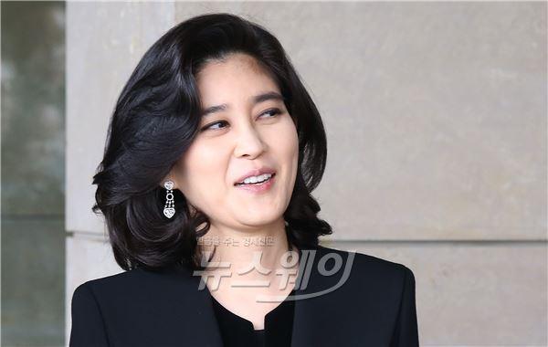 "[NW포토]이부진 호텔신라 사장 ""오늘 기분 좋네요"""