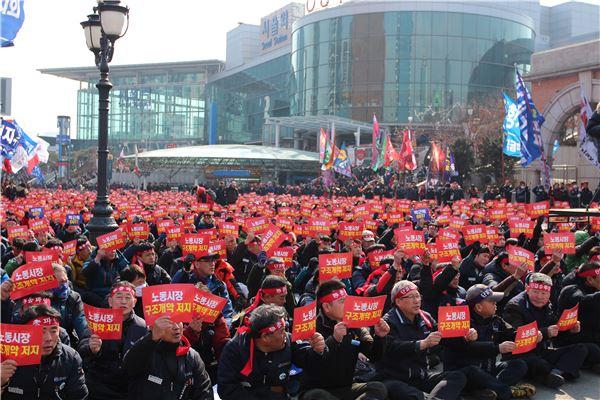 노동계 정치놀음에 국민 시름