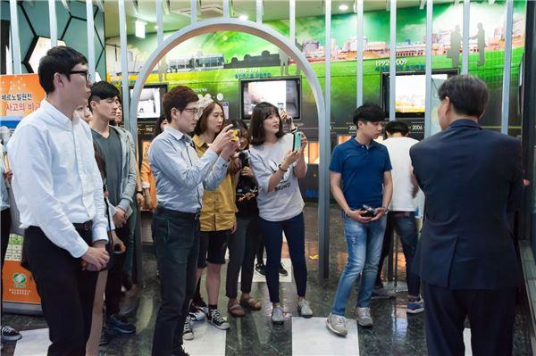 삼성물산 대학생 기자단, 신월성 원전현장 방문