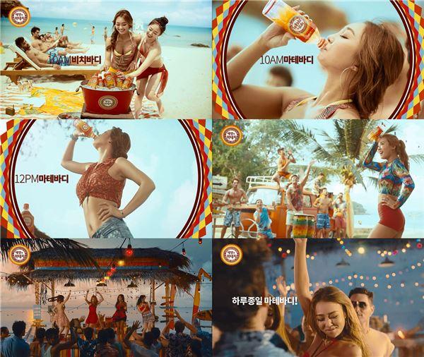 성큼 다가온 여름, 매력 넘치는 아이돌 광고 모델로 광고계 후끈 달아올라!