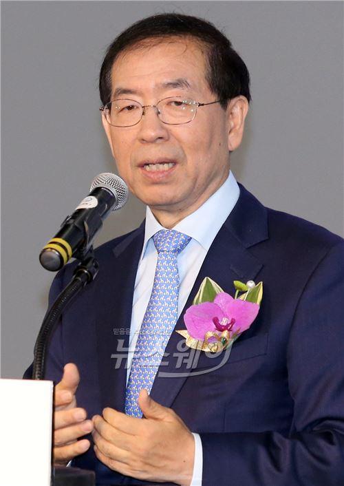 박원순 시장, 신문 뉴미디어 엑스포 2015 축사