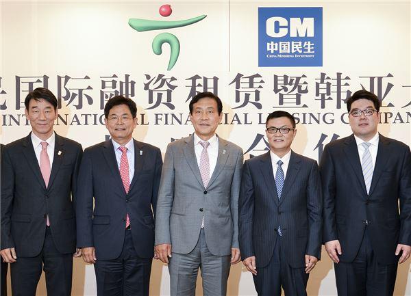 하나銀, 국내 은행 최초로 중국 리스 시장 본격 진출