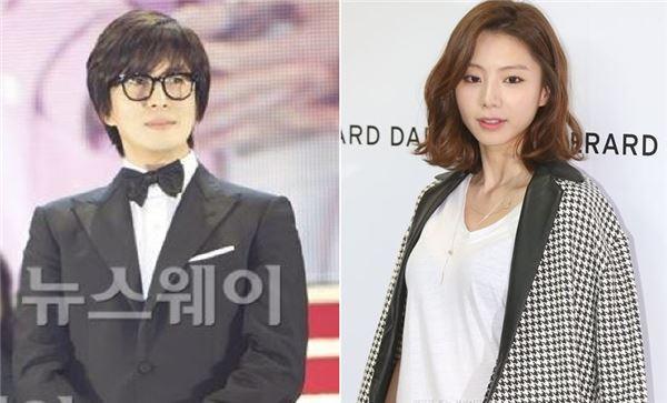배용준♥박수진, 선·후배에서 연인으로…양가 상견례 마쳤다