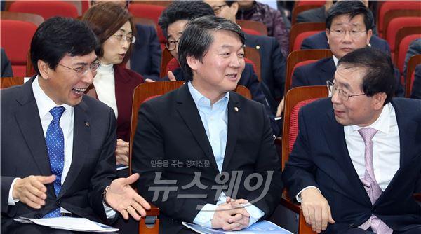 안철수·박원순, 남북경제협력 공동좌담회 개최