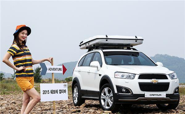 한국지엠 5월 판매 일등공신 '캡티바' 1485대...전년比 90.4%↑