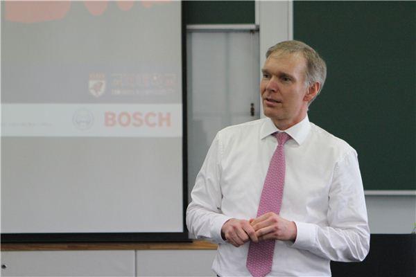 프랑크 셰퍼스 보쉬 대표이사, 고려大서 특별 강연 진행