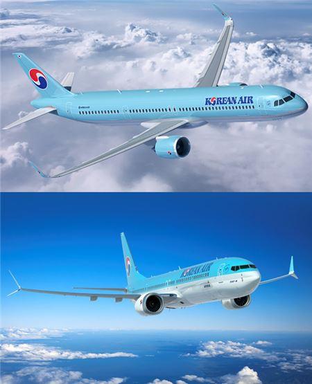 대한항공, 2025년까지 차세대 항공기 100대 도입