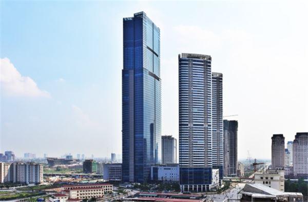 경남기업 랜드마크72, 베트남 국영통신기업 비엣텔 입주