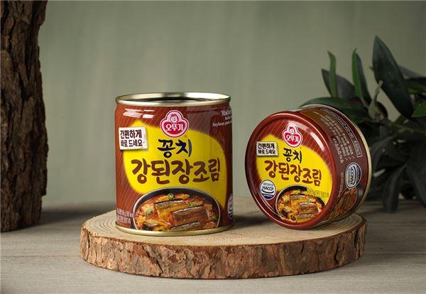 오뚜기, 신제품 '꽁치 강된장 조림' 출시