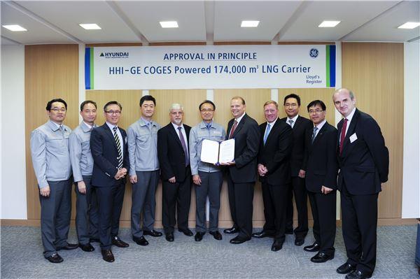 현대重-GE, '가스터빈엔진' 차세대 LNG운반선 개발