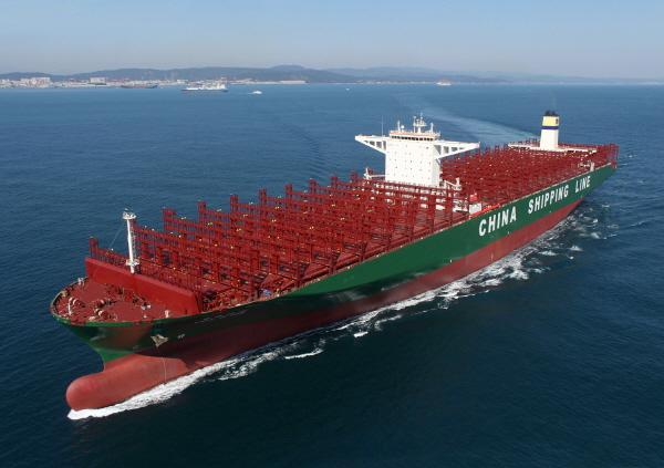 현대중공업, 머스크서라인 컨선 9척 수주…8척 추가 옵션