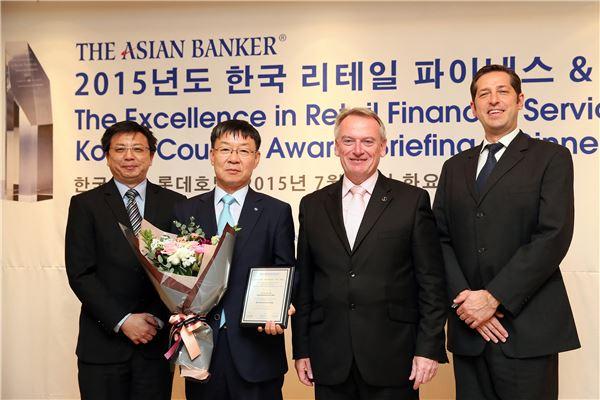 산업銀, 아시안뱅커 선전 '한국 최우수 파생상품 금융기관'