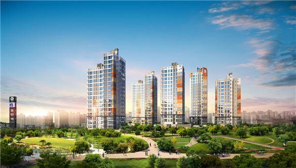 '동탄2 금강펜테리움 센트럴파크Ⅲ' 모델하우스 17일 오픈