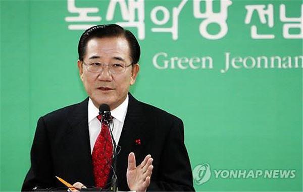 """박준영 전 전남지사, 오늘 탈당 선언…""""文대표 체제로는 어렵다"""""""
