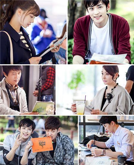 '오늘부터 사랑해', 인기있는 이유 있었네…박진우-임세미 배우들 대본 삼매경