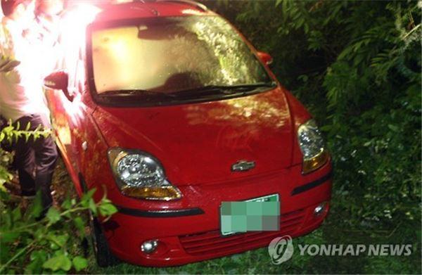사망한 국정원 직원이 발견된 승용차
