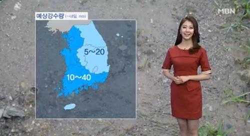 """[날씨]늦은 오후 전국으로 비···""""우산 챙기세요"""""""