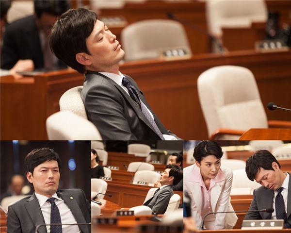 정재영, 국회서 꾸벅꾸벅 무슨일?… '어셈블리' 국회의원 졸음 풍자