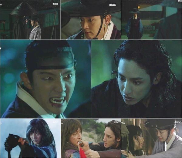 '밤을 걷는 선비' 이준기 vs 이수혁, 120년 만에 맞붙은 두 뱀파이어