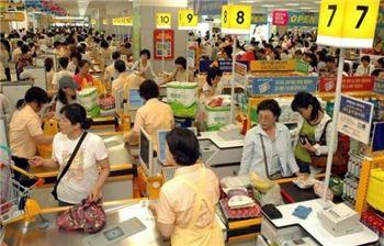 소비자물가 상승률 8개월째 0%대