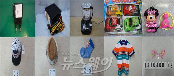 유아용 모자·직류전원장치 등 중점관리대상 42개 제품 리콜
