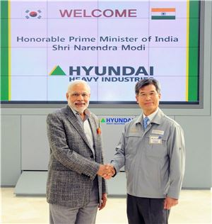현대重, 7조원 규모 인도 LNG선 프로젝트에 총력