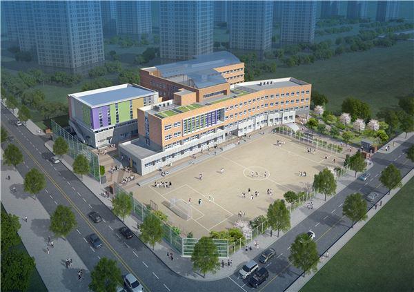 대우산업개발, 인천초등학교 신축공사 수주