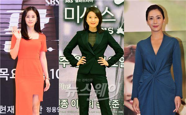 김태희·김희애·송윤아, 8月 안방 점령 여우(女優)들
